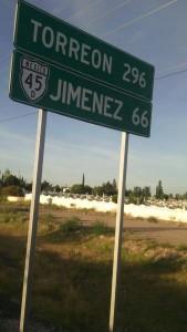 Ruta 45-Torreon-Jimenez
