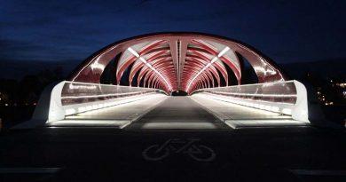 Peace bridge en Calgary, (Canadá)