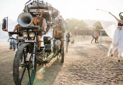 Cyklomatofon: un enorme triciclo mutante