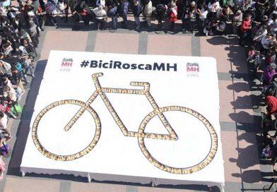 BiciRosca gigante de Reyes en México