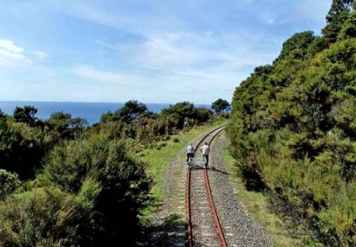 The Gisborne Rail Bike Adventure en Nueva Zelanda