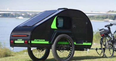 ModyPlast: pequeño trailer para e-bikes