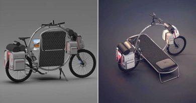 The Cercle: una verdadera casa móvil sobre dos ruedas.