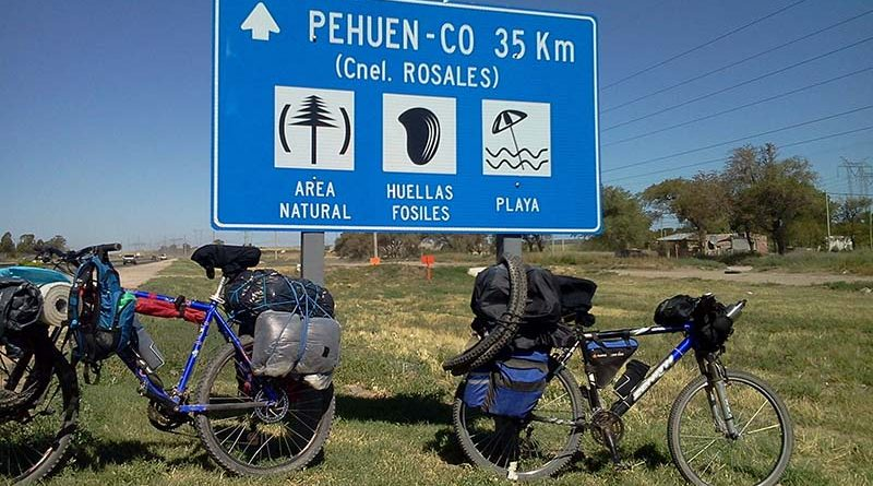 De La Pampa hasta el mar en bicicleta