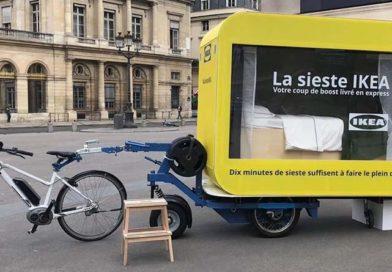 Le Sieste IKEA: la bicicleta con cápsula para echarse la siesta