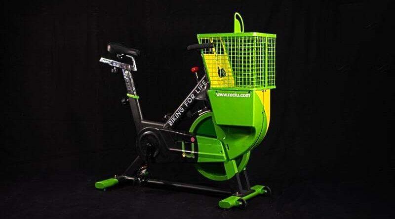 ReciU Bike: una bici fija que recicla botellas